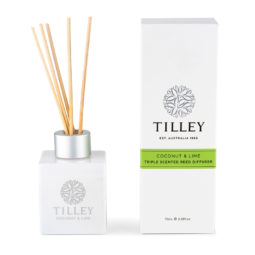 Tilley Reed Diffuser Coconut and Lime 75ml | Himalayan Salt Factory