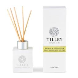 Tilley Reed Diffuser Magnolia and Green 75ml | Himalayan Salt Factory