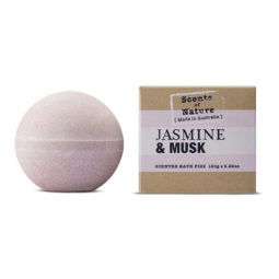 Tilley Scents of Nature Bath Fizz Jasmin & Musk 150g | Himalayan Salt Factory