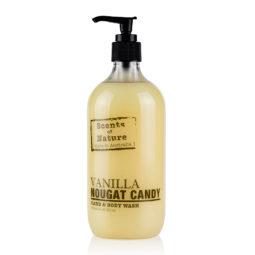 Tilley Scents of Nature Body Wash Vanilla Nougat Candy 500ml   Himalayan Salt Factory