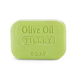 Tilley Stamped Soap Olive Oil 100g   Himalayan Salt Factory