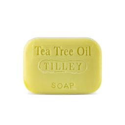 Tilley Stamped Soap Tea Tree Oil 100g   Himalayan Salt Factory