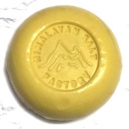 Yellow Tropical Soap 70g   Himalayan Salt Factory