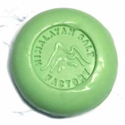 Green Rainforest Soap 70g   Himalayan Salt Factory