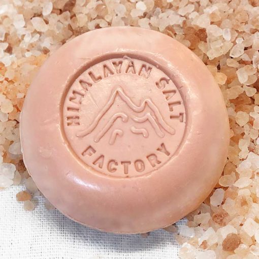 Pink Flower Soap 70g | Himalayan Salt Factory