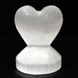 Selenite Small Heart Shape | Himalayan Salt Factory