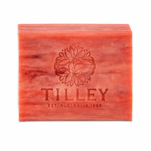 Tilley Classic Soap Red Tea Scented 100g   Himalayan Salt Factory