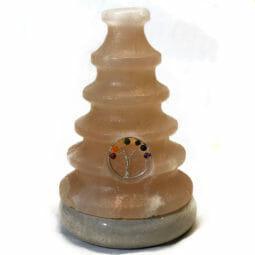 2.10kg Tree Of Life Gemstone Salt Lamp - Marble Base [TOL96] | Himalayan Salt Factory