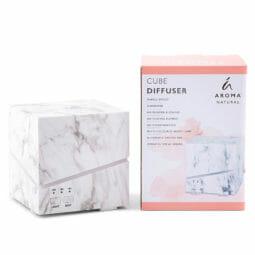Aroma Natural Cube Marble Effect Diffuser   Himalayan Salt Factory