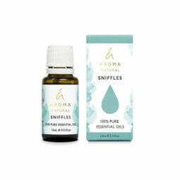 Aroma Natural Sniffles Essential Oil Blend 15mL   Himalayan Salt Factory