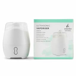 Aroma Natural Vaporiser - White   Himalayan Salt Factory