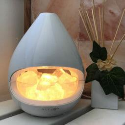 Kiyoshi Ultrasonic Himalayan Crystalline Salt Lamp Diffuser   Himalayan Salt Factory