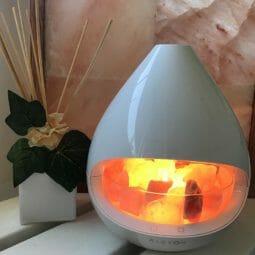 Kiyoshi Ultrasonic Himalayan Pink Salt Lamp Diffuser | Himalayan Salt Factory