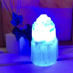 LED Blue Colour Lamp Bulb | Himalayan Salt Factory