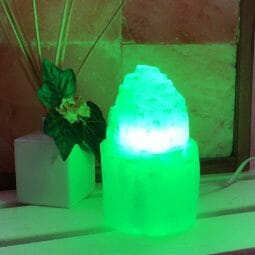 LED Green Colour Lamp Bulb | Himalayan Salt Factory