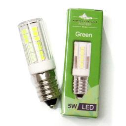 LED Green Colour Lamp Bulb 5W | Himalayan Salt Factory