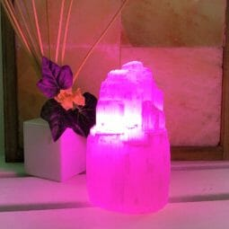 LED Purple Colour Lamp Bulb | Himalayan Salt Factory