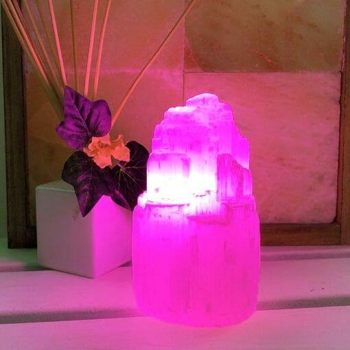 LED Purple Colour Lamp Bulb   Himalayan Salt Factory