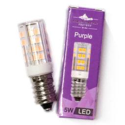 LED Purple Colour Lamp Bulb 5W | Himalayan Salt Factory