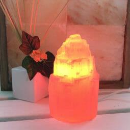 LED Red Colour Lamp Bulb | Himalayan Salt Factory