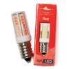 LED Red Colour Lamp Bulb 5W   Himalayan Salt Factory