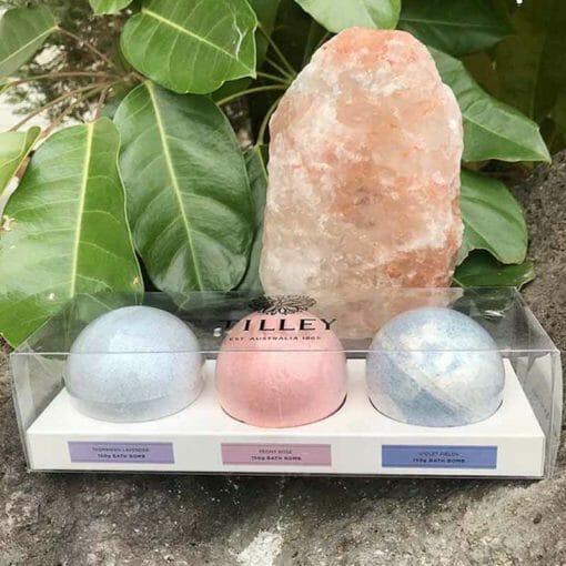 Tilley and Himalayan Salt Lamp Gift Pack 2 | Himalayan Salt Factory