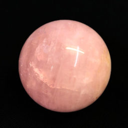 0.3kg Rose Quartz Crystal Sphere | Himalayan Salt Factory