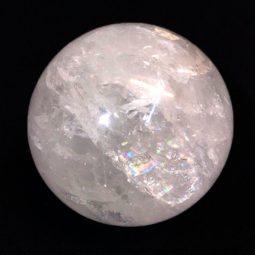 0.6kg Clear Quartz Crystal Sphere   Himalayan Salt Factory