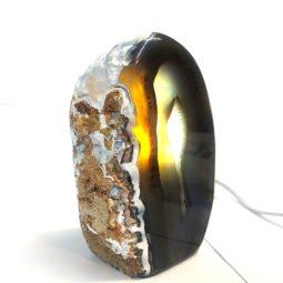 1.13kg Agate Crystal Lamp [CRY203] | Himalayan Salt Factory