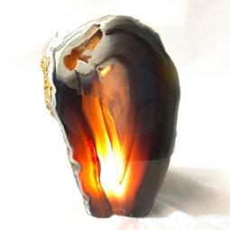 1.27kg Agate Crystal Lamp [CRY222] | Himalayan Salt Factory