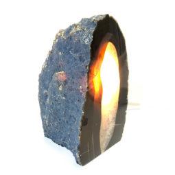 1.27kg Agate Crystal Lamp [CRY283]   Himalayan Salt Factory