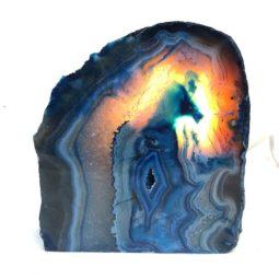 1.35kg Agate Crystal Lamp [CRY184] | Himalayan Salt Factory