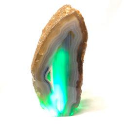 1.40kg Agate Crystal Lamp [CRY221] | Himalayan Salt Factory