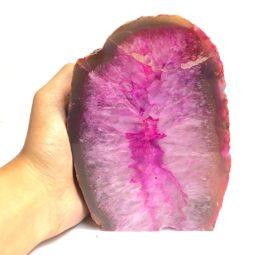 1.52kg Agate Crystal Lamp [CRY162] | Himalayan Salt Factory