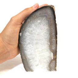 1.65kg Agate Crystal Lamp [CRY280]   Himalayan Salt Factory