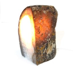 1.65kg Agate Crystal Lamp [CRY280] | Himalayan Salt Factory