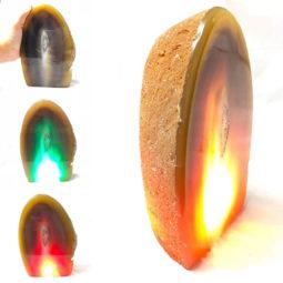 2.26kg Agate Crystal Lamp [CRY220] | Himalayan Salt Factory