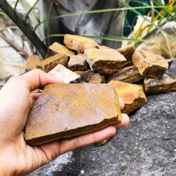 5kg Tiger Eye Rough Parcel | Himalayan Salt Factory
