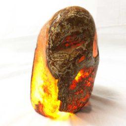 Agate Crystal Lamp [CRY400] | Himalayan Salt Factory