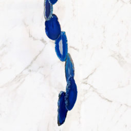 Agate Wind Chime- Blue - Small | Himalayan Salt Factory
