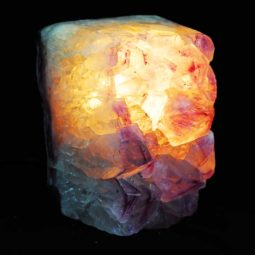 Amethyst Crystal Lamp 1 [CRY261] | Himalayan Salt Factory
