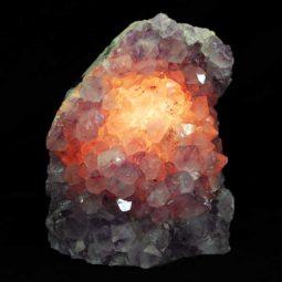 Amethyst Crystal Lamp 1 [CRY266] | Himalayan Salt Factory
