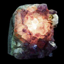 Amethyst Crystal Lamp 1 [CRY273] | Himalayan Salt Factory