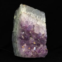 Amethyst Crystal Lamp [CRY251] | Himalayan Salt Factory
