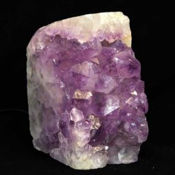 Amethyst Crystal Lamp [CRY256] | Himalayan Salt Factory