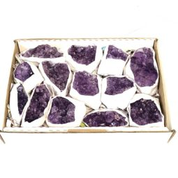 Amethyst Tray - Large | Himalayan Salt Factory