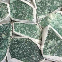 Green Quartz Tray 1   Himalayan Salt Factory
