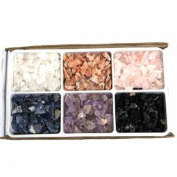 Mixed Crystal Small Pieces Tray | Himalayan Salt Factory