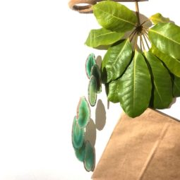 Wind Chime Brazil Agate Green Slices | Himalayan Salt Factory