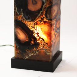 1.5kg Magic Agate Slices Lamp [CRY463] 2 | Himalayan Salt Factory